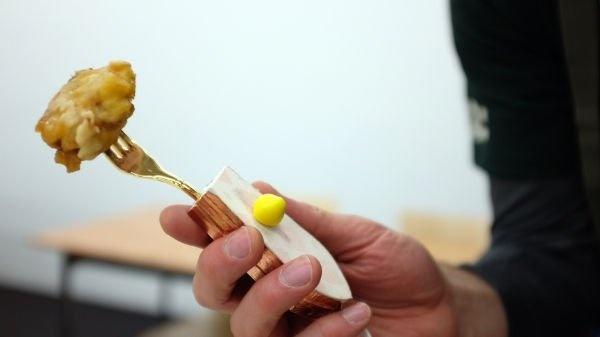 Японцы придумали электрическую вилку, заменяющую соль