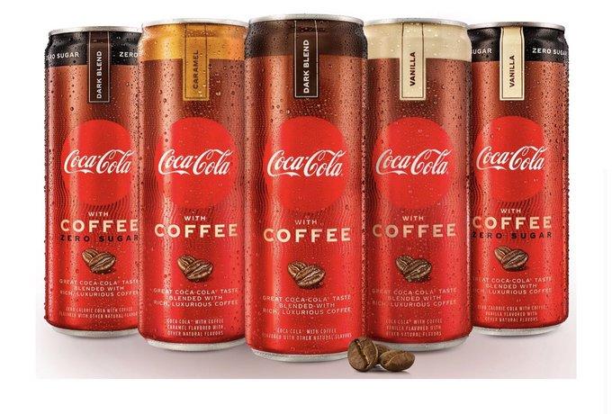 Coca-Cola выпустила кофейную газировку