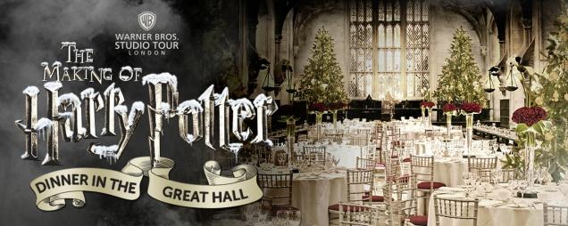 В Хогвартсе пройдет рождественский ужин