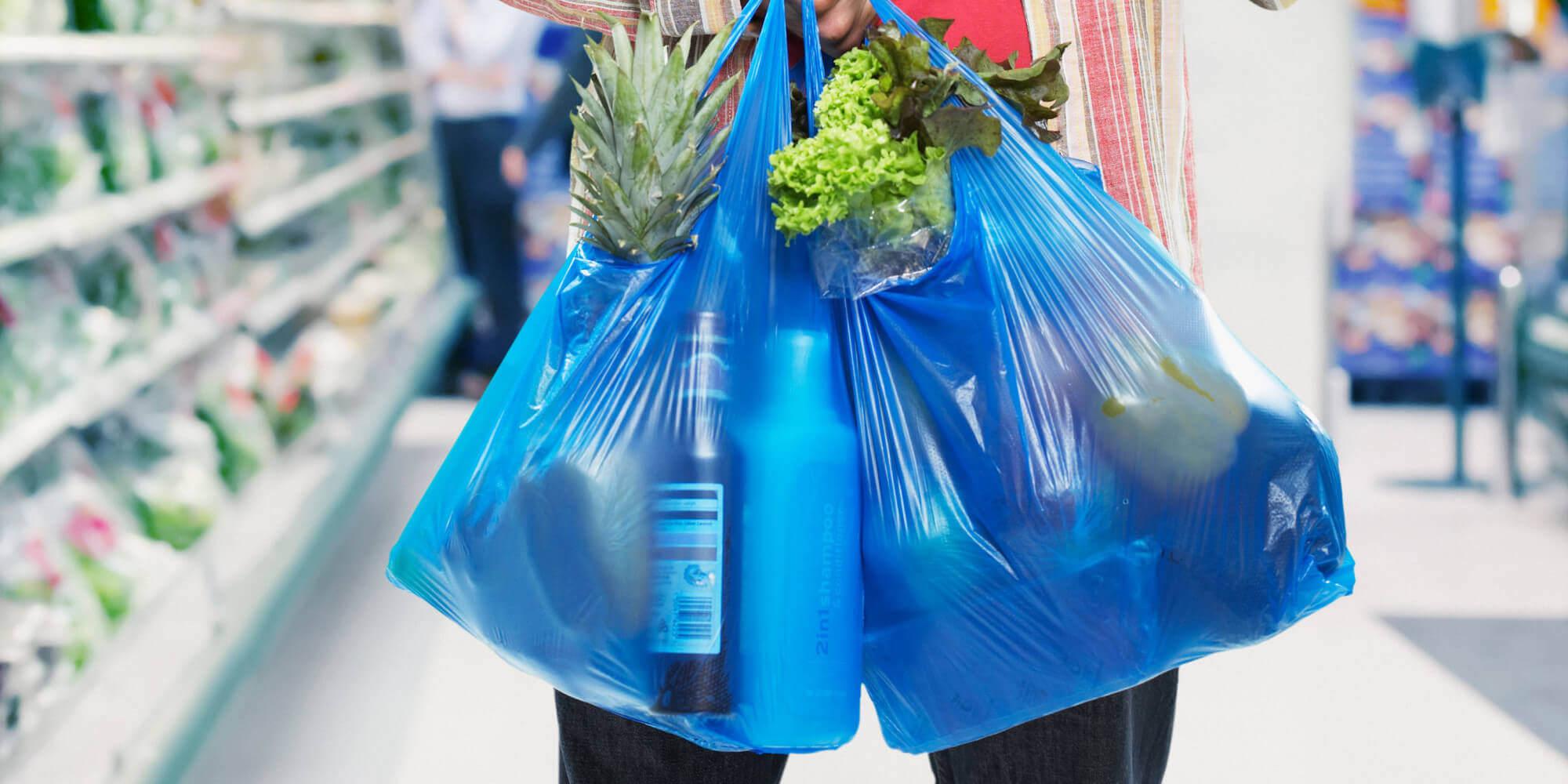 Во французских супермаркетах запретили полиэтиленовые пакеты