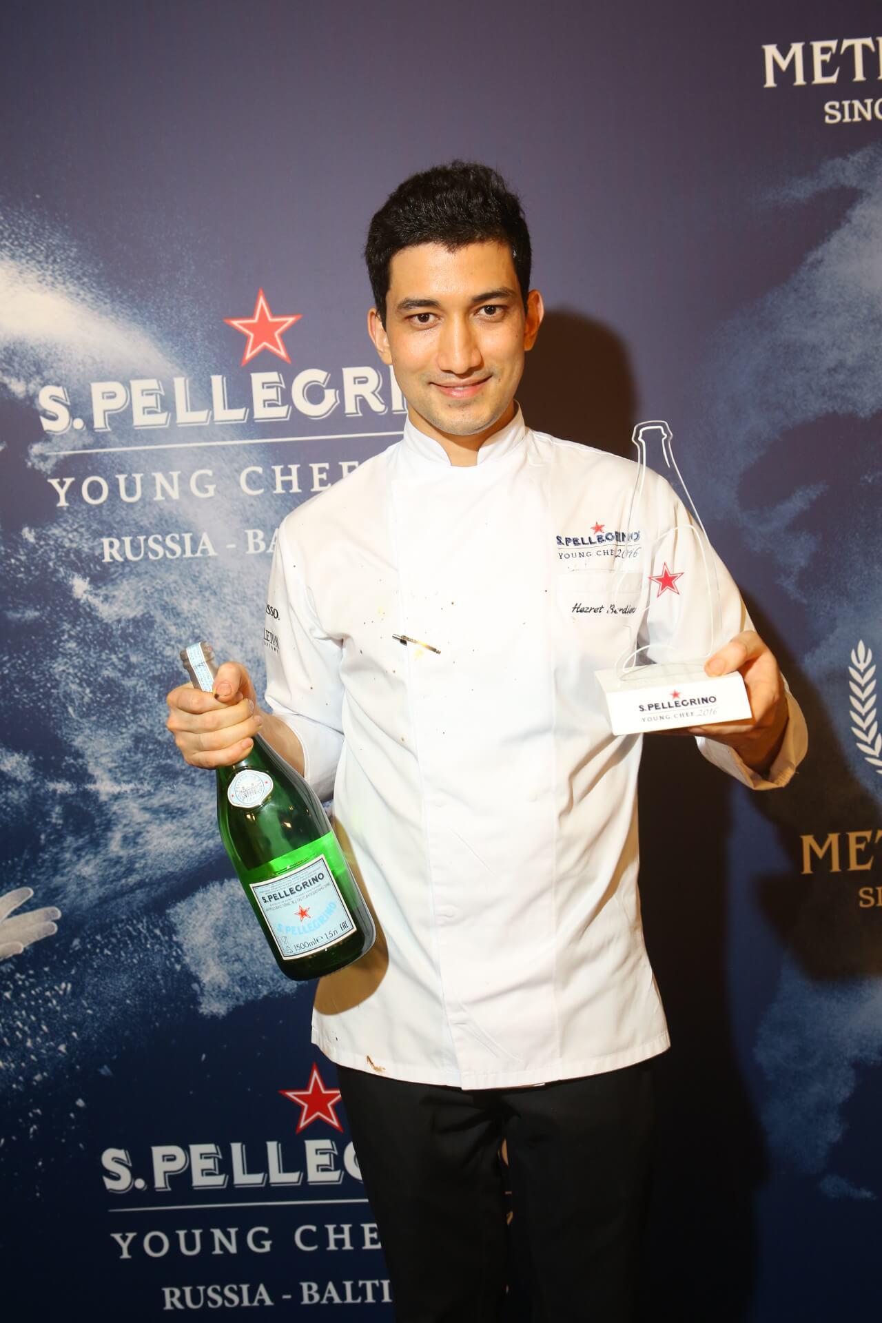 Победителем регионального этапа S.Pellegrino Young Chef 2016 стал Хезрет Бердиев