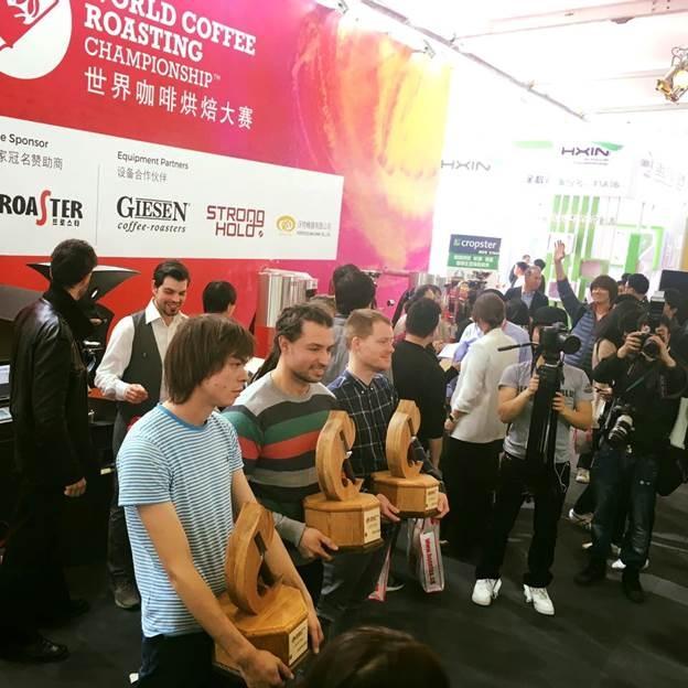 Россиянин стал вторым на World Coffee Roasting Championship