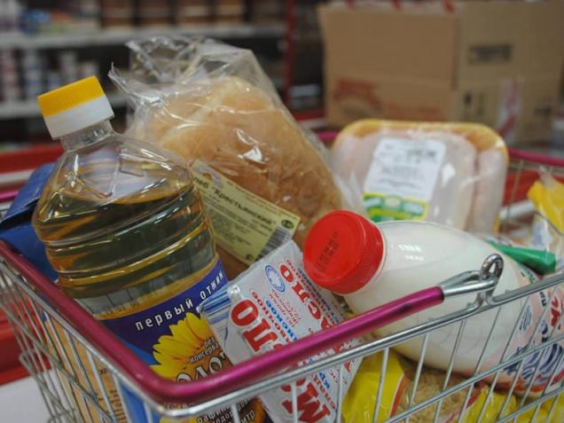 Потребительская корзина москвичей стала дешевле