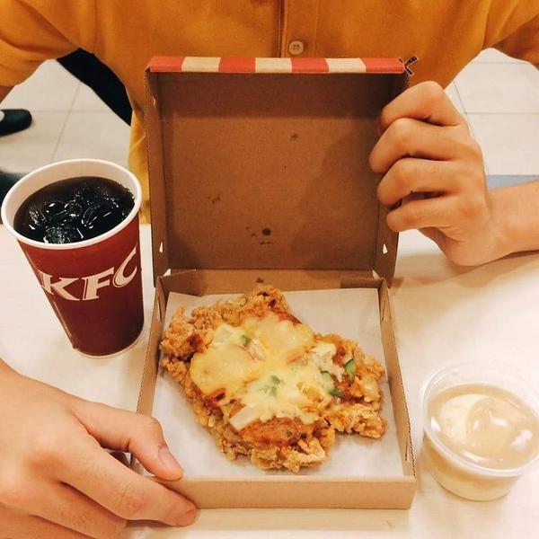 В KFC появилась курица-пицца