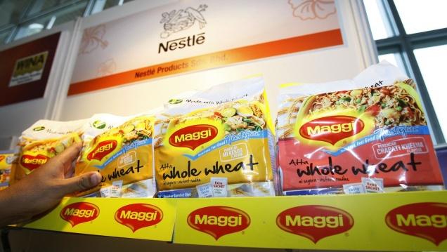 Nestle уничтожит лапшу Maggi