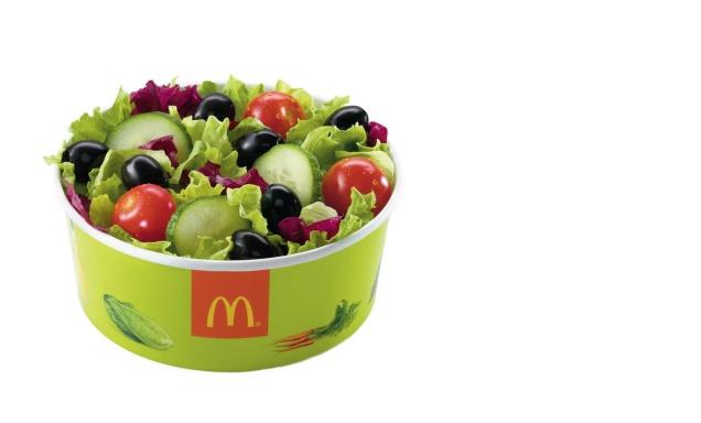 Овощные салаты вернулись во все заведения российского «Макдоналдса»