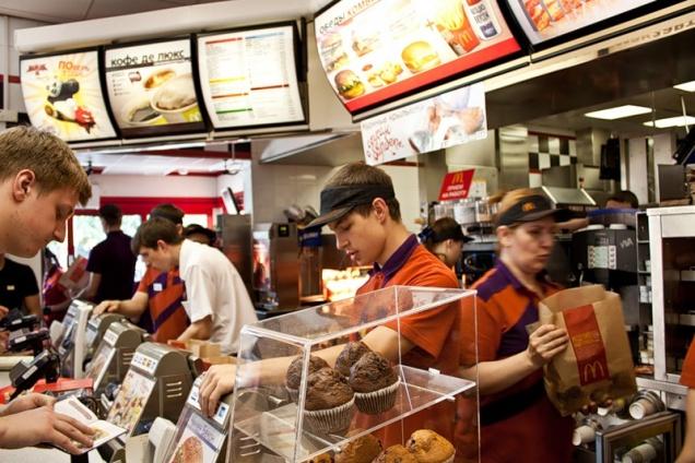 В России впервые закрыли «Макдоналдс»