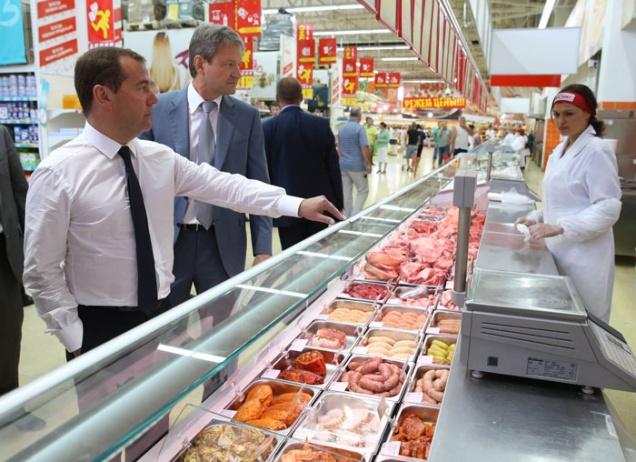 Медведев разберется с торговыми сетями