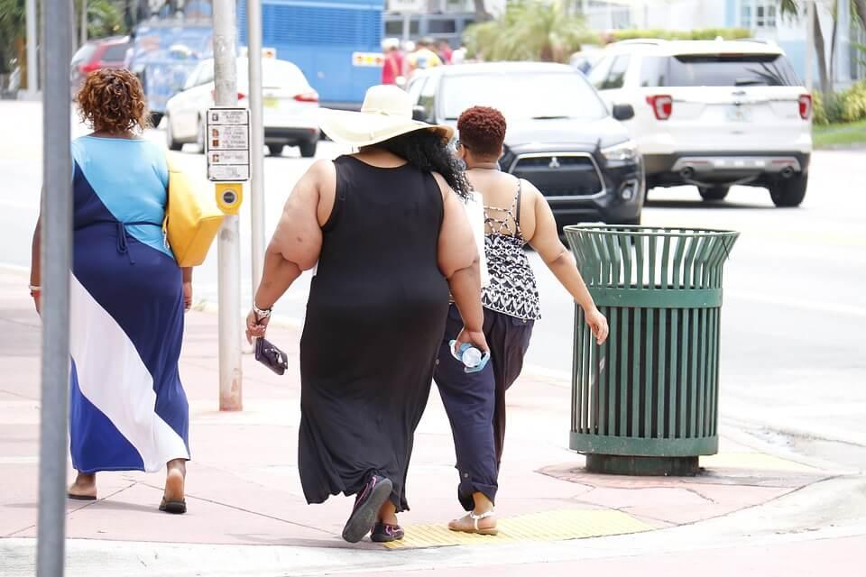 США возглавили список стран, страдающих ожирением
