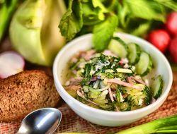 На фестивале окрошки в Москве приготовят 18 тысяч порций супа