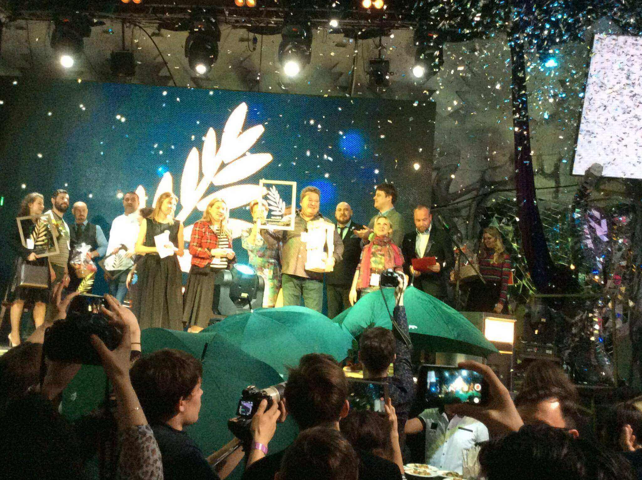 Золотую «Пальмовую Ветвь-2016» получил ресторан #СибирьСибирь