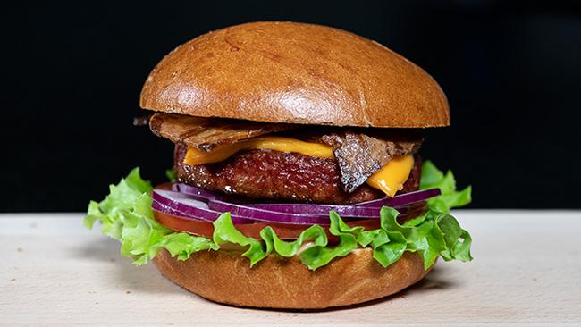 Nestle создала полностью веганский чизбургер