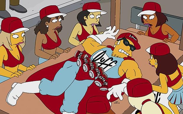 В Чили начнут продавать пиво из «Симпсонов»