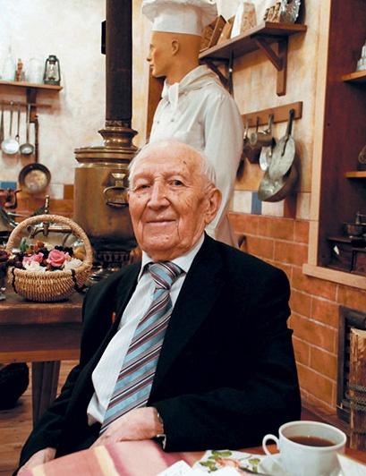 Старейший кулинар России отметил 100-летний юбилей