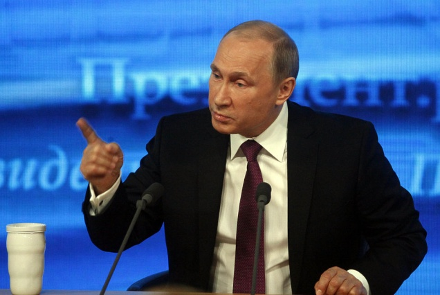 На пресс-конференции Владимир Путин призвал коллективно контролировать цены