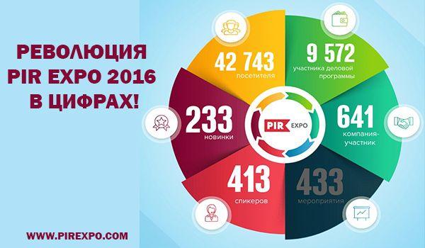В Москве подвели итоги PIR EXPO 2016