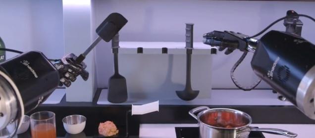 В Великобритании изобрели робота-повара
