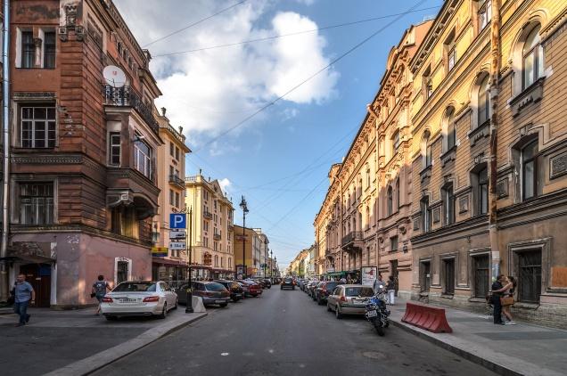 Улица Рубинштейна признана одной из главных ресторанных улиц Европы