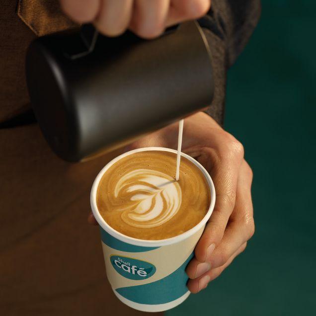 На АЗС «Шелл» изменят концепцию кофеен