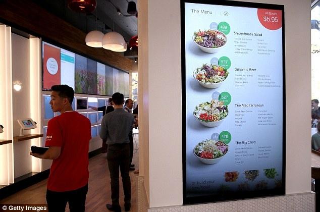 В Америке открылся ресторан без официантов