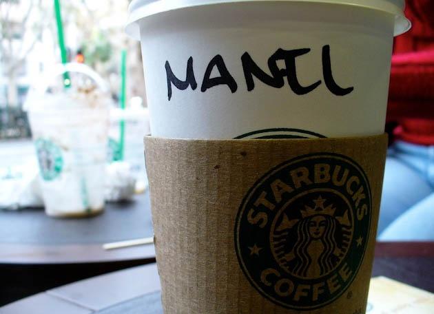 Писать имена посетителей в Starbucks нельзя