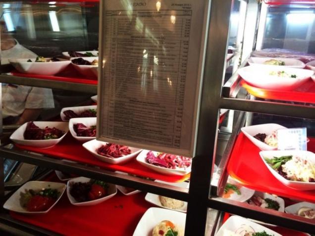 В столовых для госслужащих появилось постное меню