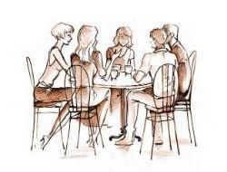 Правила этикета: деловой обед