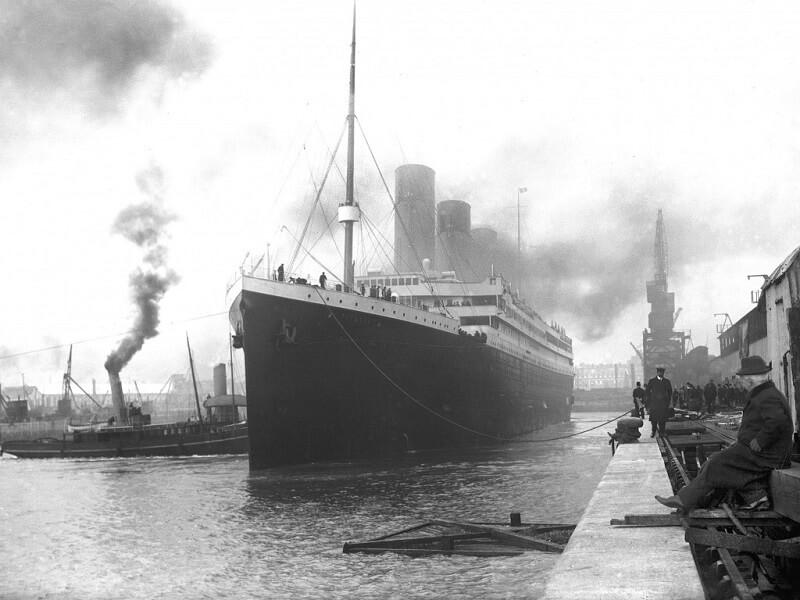 Меню первого обеда на «Титанике» продали на аукционе за $140 тысяч