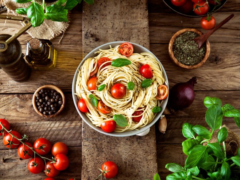 От спагетти худеют