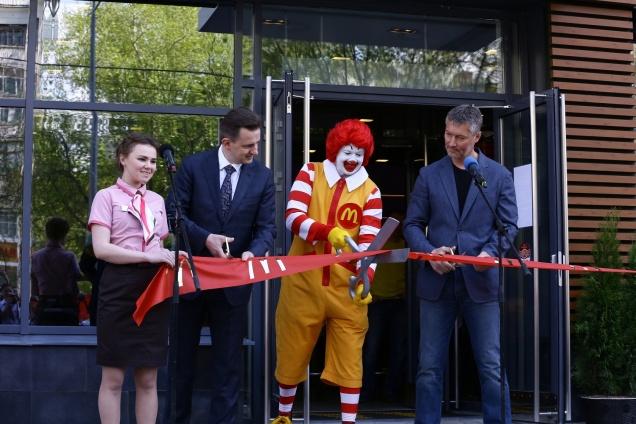 В России открыт 500-й Макдоналдс