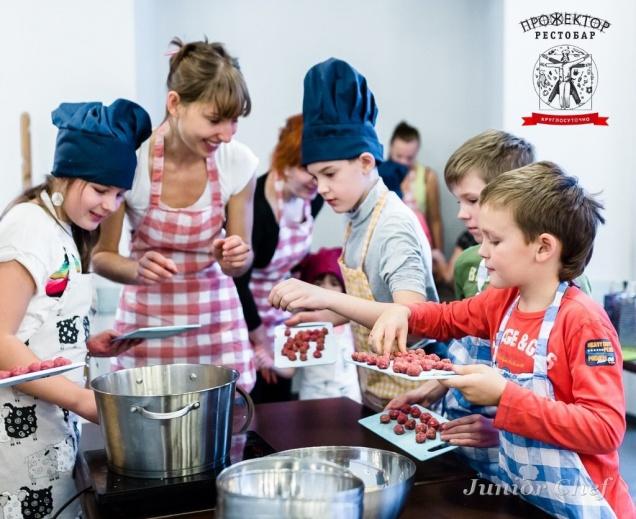 Детская кулинарная школа рестобара «Прожектор»