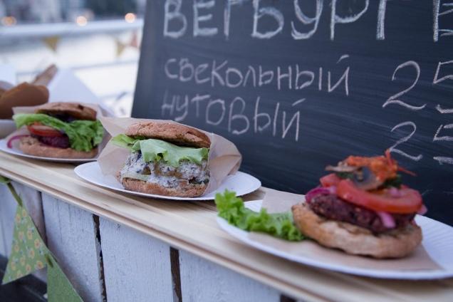 В Москве пройдет маркет вегетарианской еды «Кидай бобы»