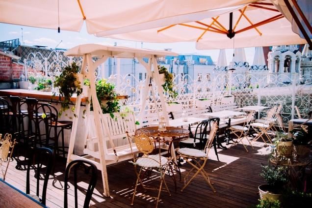Открытие летней веранды в ресторане СЧАСТЬЕ на Крыше