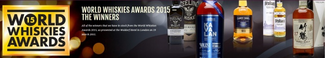 Лучшие сорта виски по версии World Whiskies Awards