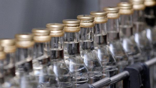 Производство водки в России в 2014 году упало на 22,3%