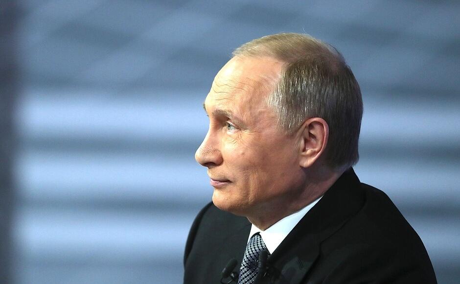 Рыба да каша: «Прямая линия» с Путиным
