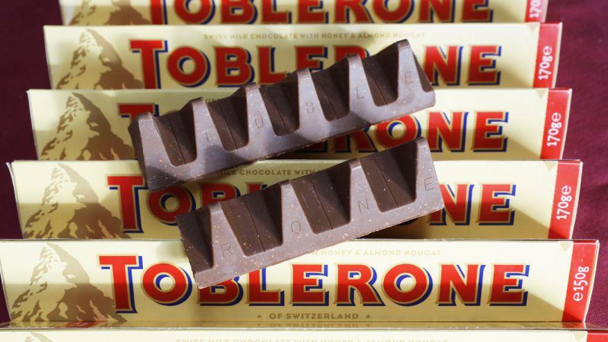 Поклонники Toblerone разочарованы новой формой шоколада