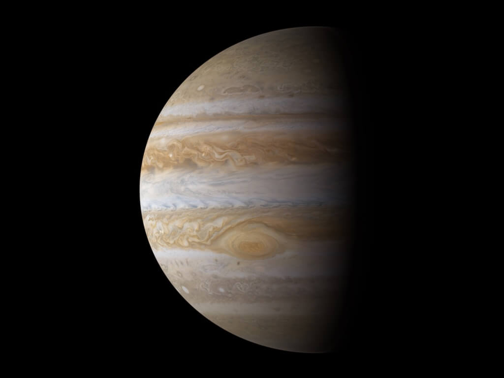 Юпитер сравнили с гигантской луковицей