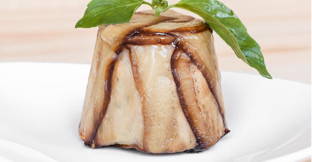 Тортино из баклажанов