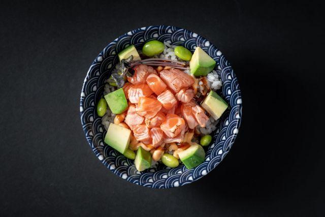 Чираши с лососем